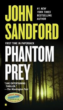 Lucas Davenport novel: Phantom Prey by John Sandford