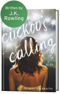 J. K. Rowling writes for grownups in The Cuckoo's Calling.