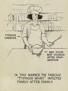 800px-Typhoid_carrier_polluting_food_-_a_poster