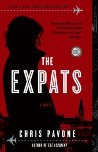 The Expats is a novel about cyber theft.