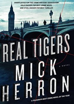 spooks in Real Tigers by Mick Herron