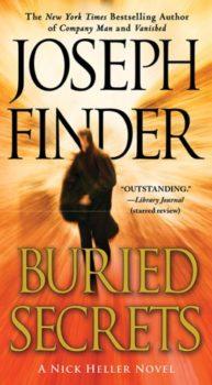 Joseph Finder thrillers: Buried Secrets by Joseph Finder