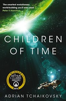 accelerated evolution: Children of Time by Adrian Tchaikovsky