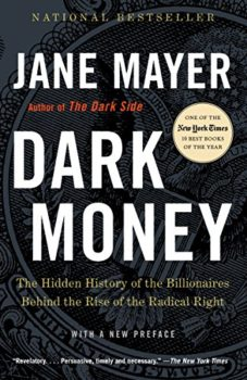 nonfiction books reviewed in 2016: Dark Money by Jane Mayer