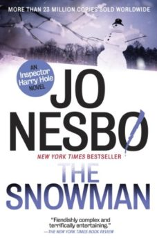 mysteries and thrillers reviewed: The Snowman by Jo Nesbo