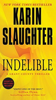 The Grant County backstory is in Indelible by Karin Slaughter.