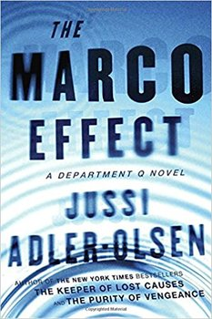 Image of The Marco Effect by Jussi Adler-Olsen, an example of one of the outstanding detective series