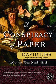 A Conspiracy of Paper features the first modern crime lord.