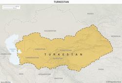 Turkestan is the setting for this intelligent spy novel.