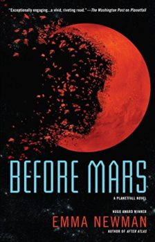 Before Mars is a psychological thriller in a science fiction setting.