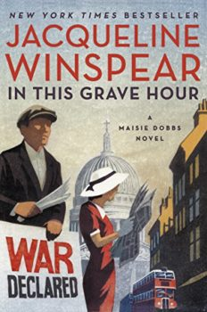 In This Grave Hour is the 13the book in the Maisie Dobbs series.