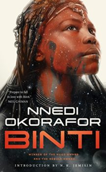 """Binti"" is the Binti Trilogy book one."