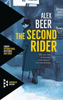 The Second Rider is the first book in a new series of detective novels.