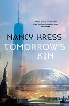 Tomorrow's Kin is hard sci-fi about evolutionary biology.