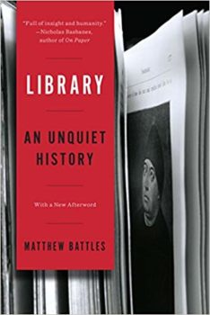 Library is a history of libraries of sorts.