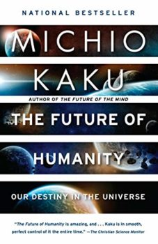 The Future of Humanity is one of the good books about space travel listed here.