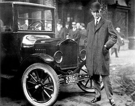 Before Henry Ford introduced the Model T in 1908, the auto industry was not a sure thing.