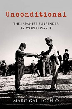 Unconditional is about the unconditional Japanese surrender in WWII.