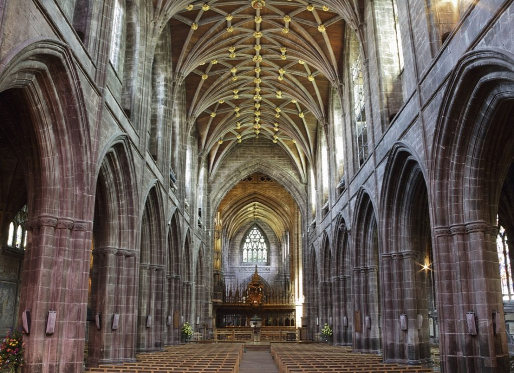 The cathedral that was first built in the prequel to the Kingsbridge Trilogy.