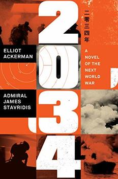 """Cover image of """"2034,"""" a novel about the Third World War"""