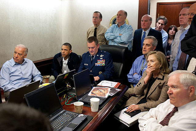 The mission to take out Osama bin Laden is the climax of Barack Obama's memoir.
