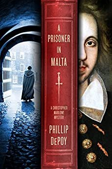 Cover image of A Prisoner in Malta, one of the best mysteries set in Elizabethan England