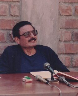 Image of Abimael Guzman, who led terrorism in the Andes