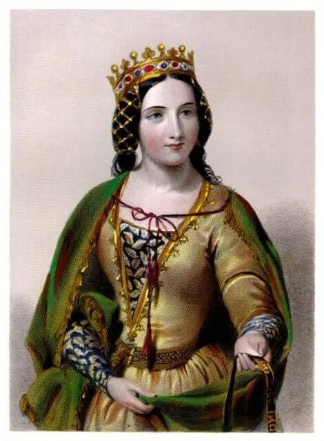 Image of Anne Neville, the Kingmaker's daughter