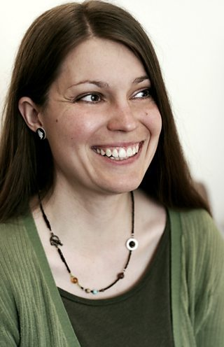 Image of Becky Chambers, one of even new science fiction authors