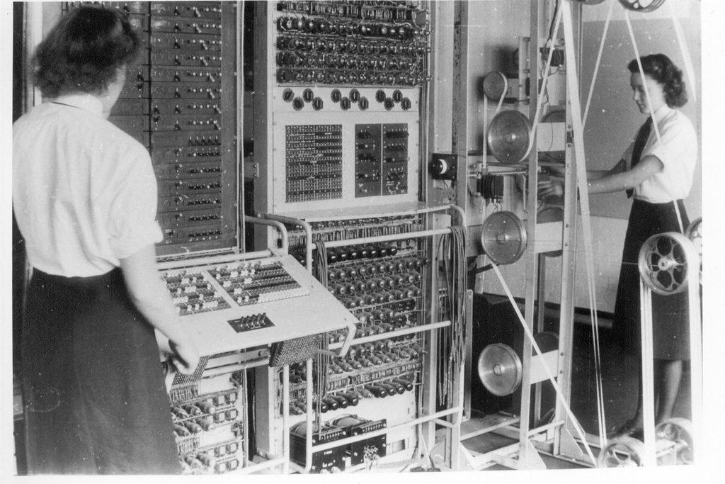 The British success in breaking the German Enigma codes was one of the most significant events of WWII.