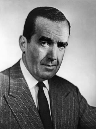 Image of Edward R. Murrow, who played an important role in the British-American alliance