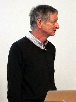 Image of Geoff Hinton, a pioneer in AI research