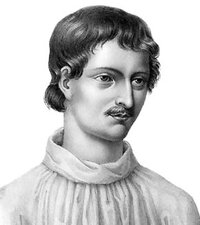 Image of Giordano Bruno, one of the famous people in this post