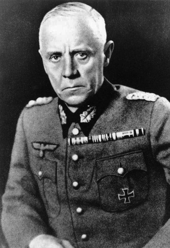 Image of Ludwig Beck, the German general who resisted the coming war with Nazi Germany.