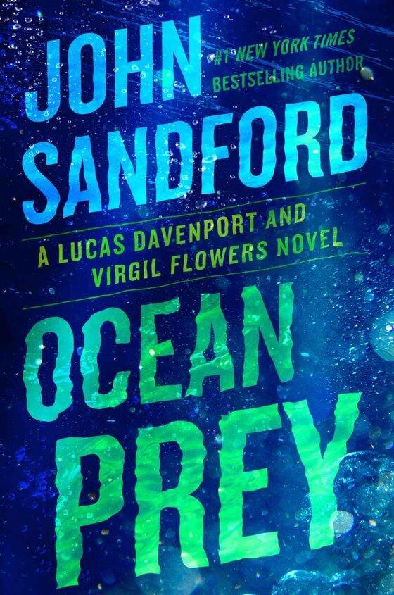"Cover image of ""Ocean Prey,"" a thriller about drug smugglers"