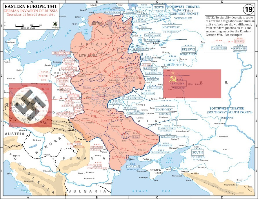 Hitler's invasion of the USSR was one of the most significant events of WWII.
