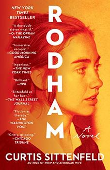 "Cover image of ""Rodham,"" an alternate political history"