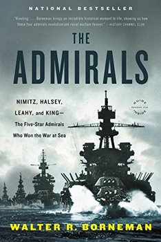 Image of The Admirals, about the four five-star admirals who led the US Navy in WWII