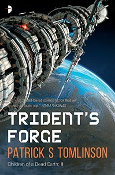 Image of Trident's Forge, a mash-up of science fiction and a mystery.