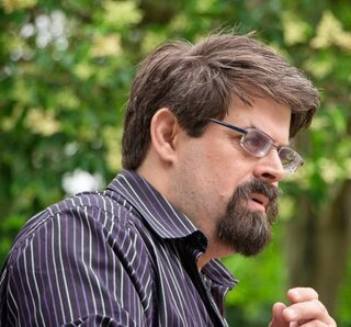 Image of Adrian Tchaikovsky, one of seven new science fiction authors