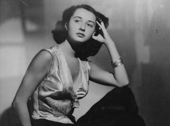 Image of Aline Griffith, who worked as an OSS spy