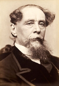 Image of Charles Dickens, one of the famous people in this review