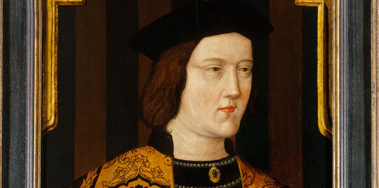 Image of King Edward IV, who proved there was nothing noble about the nobility.