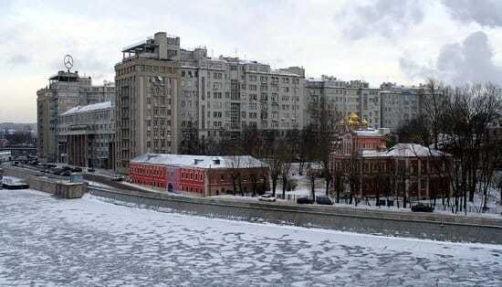 Image of the House on the Embankment, where much of this would-be biography of Joseph Stalin is set.