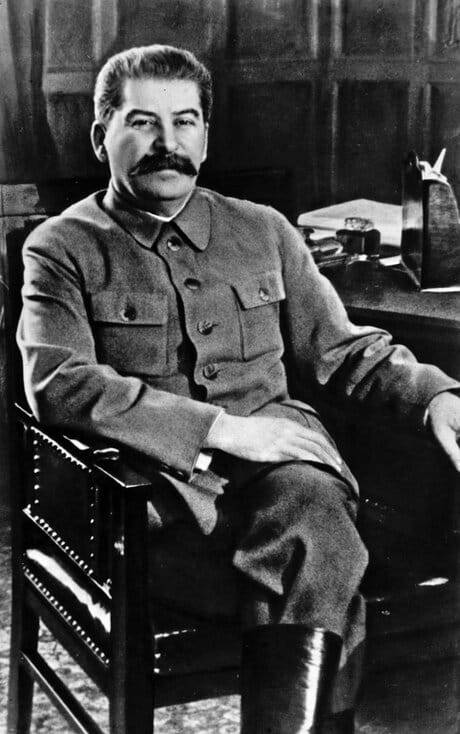 Image of the subject of this would-be biography of Joseph Stalin.