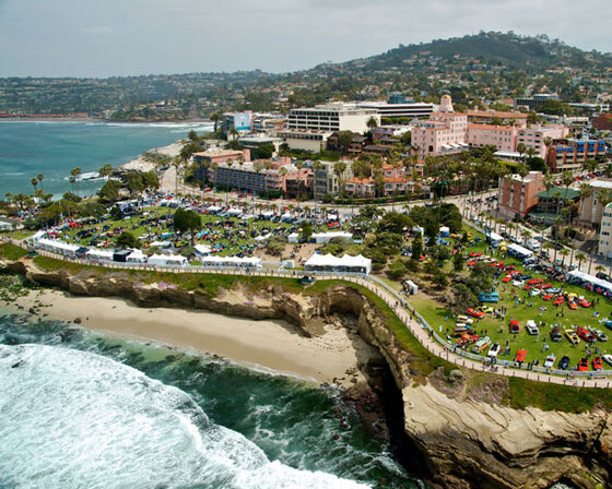 Image of La Jolla, California, where the older scenes in this novel are set