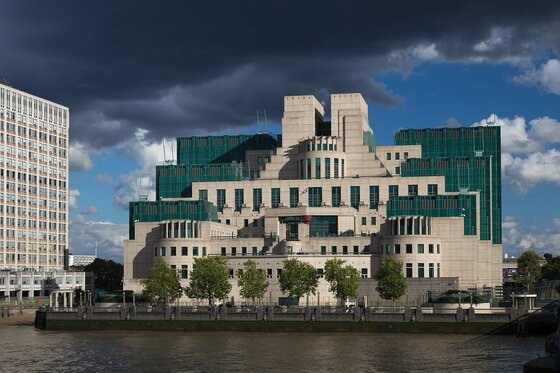 Image of SIS House, headquarters of the overseas arm of British secret intelligence