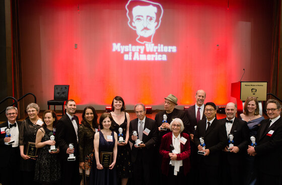 Image of mystery writers who wrote many of the detective novels reviewed here