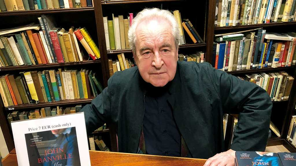 John Banville, author of the Quirke series of Dublin crime novels.