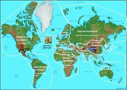 Map of the world that helps us gain a global perspective.